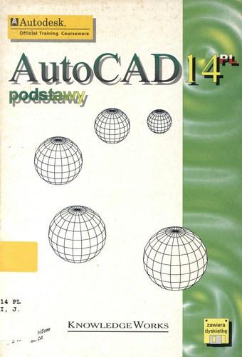 Książka Podstawy AutoCAD 14 o numerze ISBN 8371580932 opracowana jest przez zespół KnowladgeWorks wraz z firmą Autodesk, wydawnictwo Mikom.