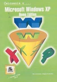 Książka Microsoft Windows XP Home Edition z serii Ćwiczenia z... o numerze ISBN 8372793212. Autor Mirosława Kopertowska, wydawnictwo Mikom.