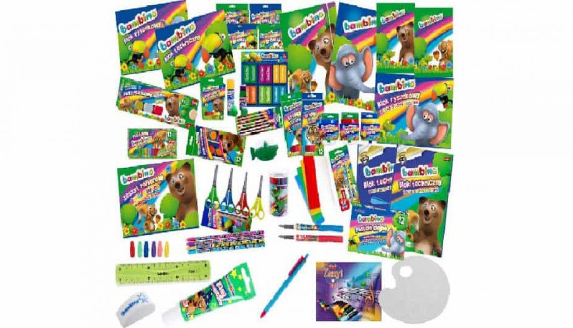 Szkolna wyprawka dla dziecka - akcesroai do szkoły i książki szkolne.